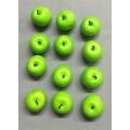 """Apple Shiny Green 1.5"""" (12)"""