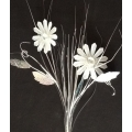 White Flower Spray 32""