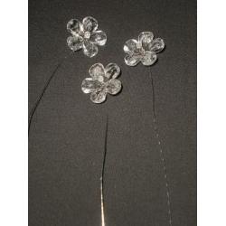 Clear Crystal Flower