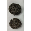 "Vine Ball 4"" Black (2)"