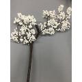 "Spring Berry Branch White 27"""
