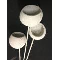 Bell Cups White Glitter (3)