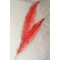 """Glitter Leaf Spray Red 40"""""""