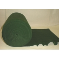 "Stretch Crepe Paper Green 13"" 50Y."