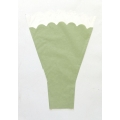 "Bouquet Sleeves Green 17""x12""x4"" (25)"