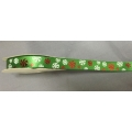 "Xmas Ribbon Green 1/2"" 10y."