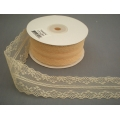 "Lace Ivory 1.5"" 25y."