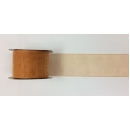 "Organza Ribbon Copper 2"" 15y"