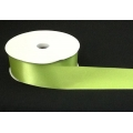 Satin Double-Face Apple Green 50yds.