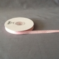 "Grosgrain Pink/White Dots 3/8"" 25y"
