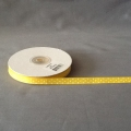 "Grosgrain Yellow/White Dots 3/8"" 25y"